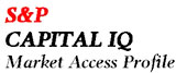 S&P Capital IQ Market Access Profile button